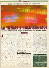 la therapie holosonique jacotte chollet